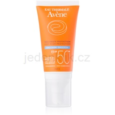 Avène Sun Sensitive emulze na opalování SPF50+ 50 ml