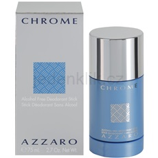 Azzaro Chrome Chrome 75 ml deostick