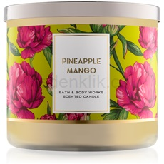 Bath & Body Works Pineapple Mango 411 g vonná svíčka