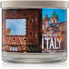 Bath & Body Works Cannoli & Chocolate 411 g Italy vonná svíčka