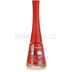Bourjois 1 Seconde Nail Enamel lak na nehty odstín 10 Rouge Poppy 9 ml
