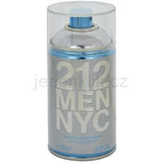 Carolina Herrera 212 NYC Men 250 ml tělový sprej