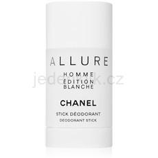 Chanel Allure Homme Édition Blanche 75 ml deostick pro muže deostick