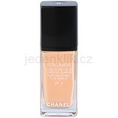 Chanel Vitalumiere tekutý make-up odstín 25 Pétale (Satin Smoothing Fluid Make-up) 30 ml