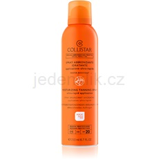 Collistar Special Perfect Tan Moisturizing Tanning Spray opalovací sprej SPF 20 200 ml