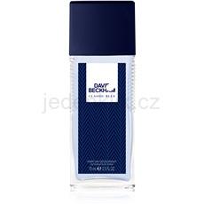 David Beckham Classic Blue 75 ml deodorant s rozprašovačem pro muže deodorant s rozprašovačem