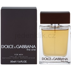 Dolce & Gabbana The One for Men 50 ml toaletní voda