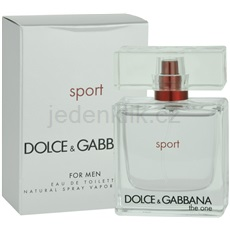 Dolce & Gabbana The One Sport for Men 50 ml toaletní voda