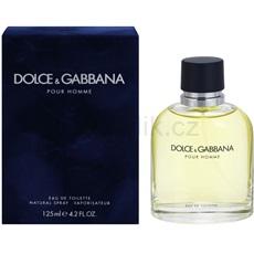 Dolce & Gabbana Pour Homme 125 ml toaletní voda