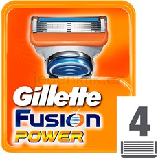 Gillette Fusion Power náhradní břity 4 ks