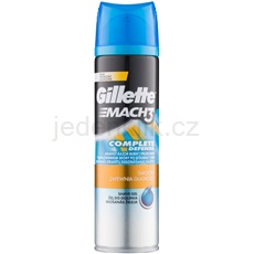 Gillette Mach 3 Close & Smooth gel na holení 200 ml