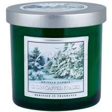 Kringle Candle Snow Capped Fraser 141 g malá vonná svíčka