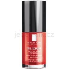 La Roche-Posay Silicium Color Care lak na nehty odstín 24 Perfect Red 6 ml
