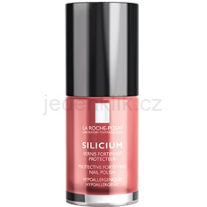 La Roche-Posay Silicium Color Care lak na nehty odstín 22 Poppy Red 6 ml