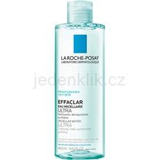 La Roche-Posay Effaclar Ultra čisticí micelární voda pro problematickou pleť, akné 400 ml