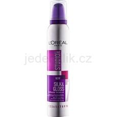 L'Oréal Paris Studio Line Silk&Gloss Volume pěna pro objem a lesk 200 ml