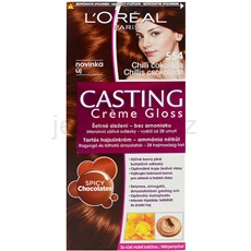 L'Oréal Paris Casting Creme Gloss barva na vlasy odstín 554 Spicy Chocolates