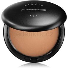 MAC Studio Fix Powder Plus Foundation kompaktní pudr a make-up 2 v 1 odstín NW40  15 g