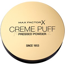 Max Factor Creme Puff pudr pro všechny typy pleti odstín 55 Candle Glow  21 g