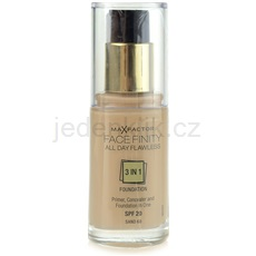 Max Factor Facefinity make-up 3 v 1 odstín 60 Sand SPF20  30 ml