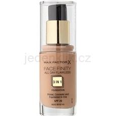Max Factor Facefinity make-up 3 v 1 odstín 65 Rose Beige (All Day Flawless) 30 ml