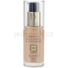 Max Factor Facefinity make-up 3 v 1 odstín 80 Bronze SPF20 (All Day Flawless) 30 ml