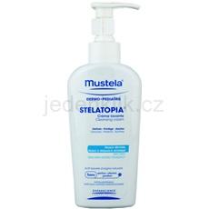Mustela Dermo-Pédiatrie Stelatopia čisticí krém pro velmi suchou citlivou a atopickou pokožku 200 ml