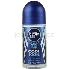 Nivea Men Cool Kick antiperspirant roll-on pro muže 48h (Kick of Freshness) 50 ml