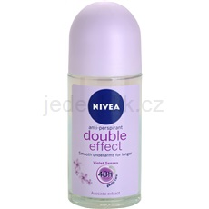 Nivea Double Effect antiperspirant roll-on 48h  50 ml