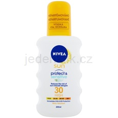 Nivea Sun Pure & Sensitive sprej na opalování SPF 30 200 ml