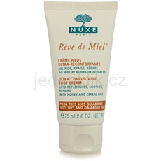 Nuxe Reve de Miel krém na nohy pro velmi suchou pokožku 75 ml