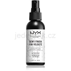 NYX Professional Makeup Dewy Finish fixační sprej 60 ml