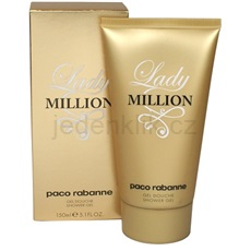 Paco Rabanne Lady Million Lady Million 150 ml sprchový gel
