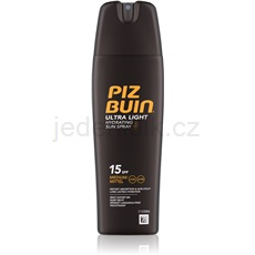 Piz Buin In Sun lehký sprej na opalování SPF15 200 ml