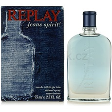 Replay Jeans Spirit! For Him 75 ml toaletní voda