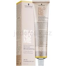 Schwarzkopf Professional Blondme zesvětlující krém odstín H - Warm Gold  60 ml