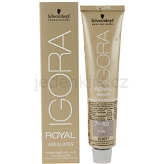 Schwarzkopf Professional IGORA Royal Absolutes barva na vlasy odstín 6-70 (Colorists´s Anti-Age Color) 60 ml