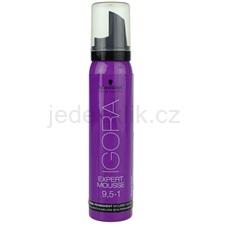 Schwarzkopf Professional IGORA Expert Mousse barvicí pěna na vlasy odstín 9,5-1 Pearl  100 ml