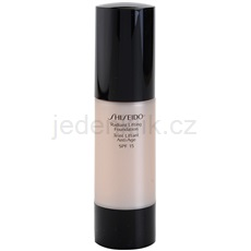 Shiseido Base Radiant Lifting rozjasňující liftingový make-up SPF 15 odstín O40 Natural Fair Ochre 30 ml
