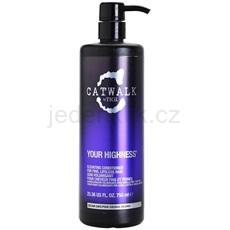 TIGI Catwalk Your Highness kondicionér pro objem 750 ml