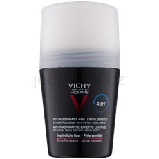 Vichy Homme Deodorant antiperspirant roll-on bez parfemace 48h  50 ml