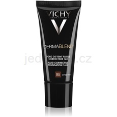 Vichy Dermablend Dermablend korekční make-up s UV faktorem odstín 95 Chestnut 30 ml