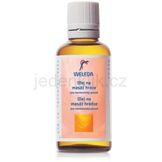 Weleda Pregnancy and Lactation olej na masáž hráze 50 ml