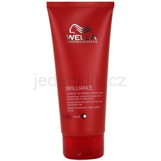 Wella Professionals Brilliance kondicionér pro hrubé, barvené vlasy (Conditioner for coarse hair) 200 ml