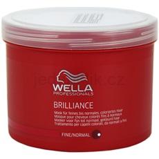 Wella Professionals Brilliance maska pro jemné, barvené vlasy 500 ml