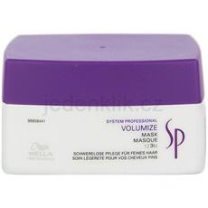 Wella Professionals SP Volumize maska pro jemné a zplihlé vlasy 200 ml